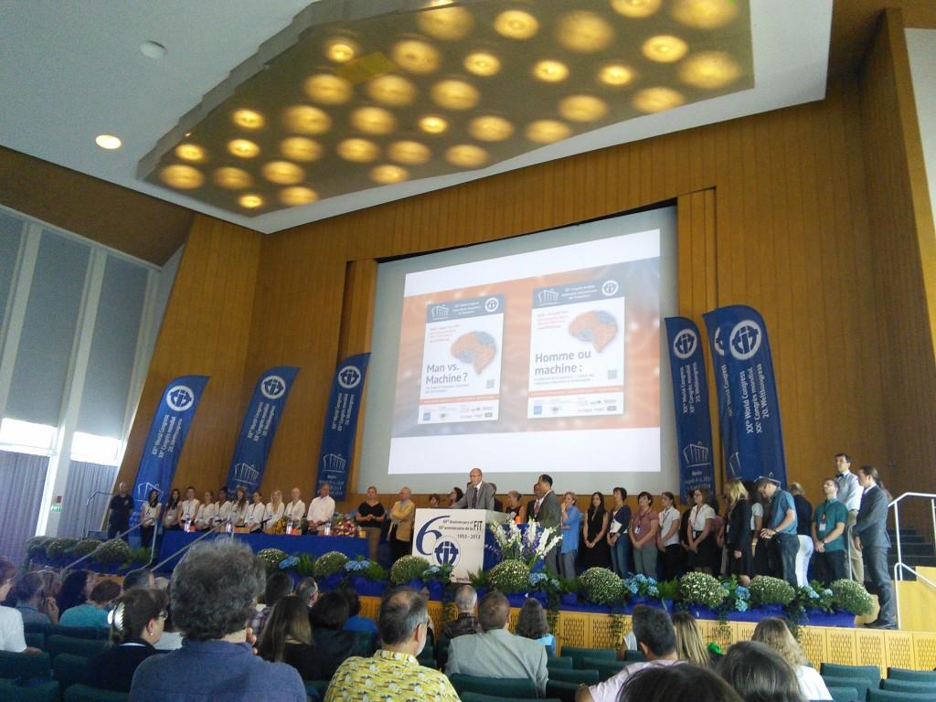 Združenje na XX. svetovnem kongresu FIT 2014
